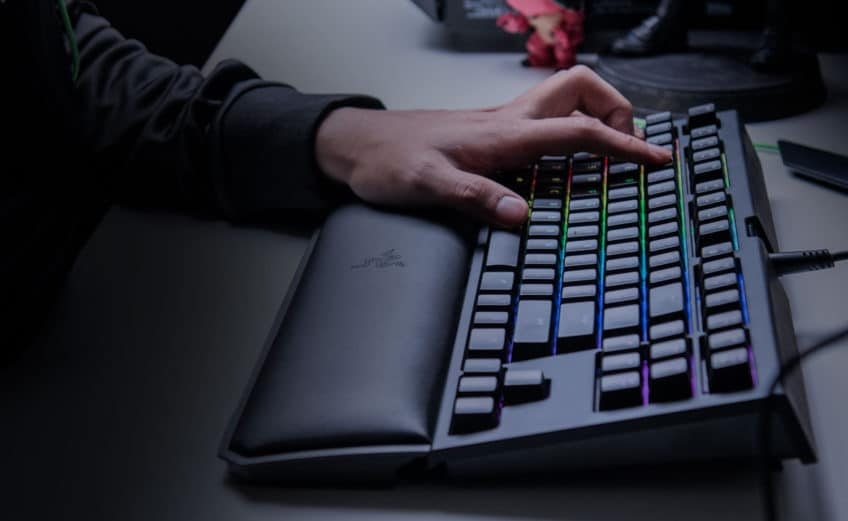 Razer BlackWidow Tournament Edition Chroma V2 mechanical keyboard