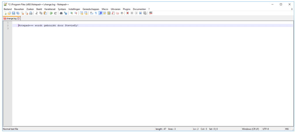 gratis software Notepad++