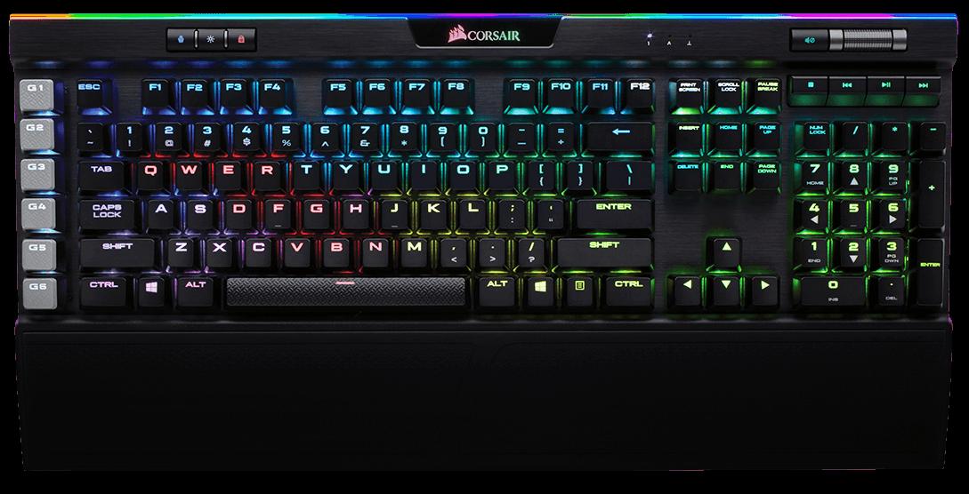 Het mechanisch toetsenbord van Corsair, de K95 RGB Platinum