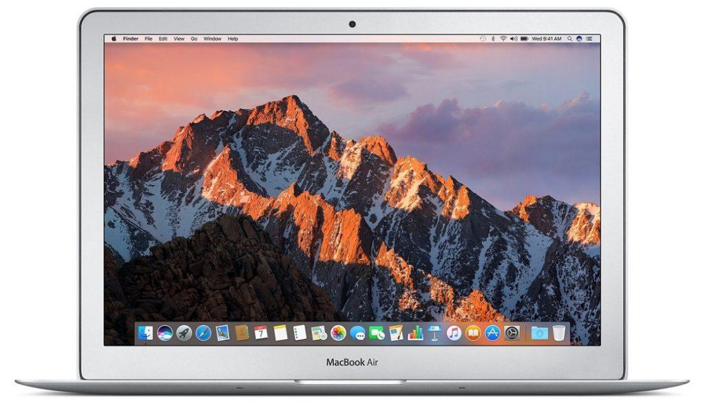 studentenlaptop macbook air 15 inch (2017)