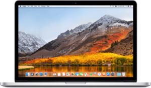 """Studentenlaptop 15"""" macbook pro met macOS"""