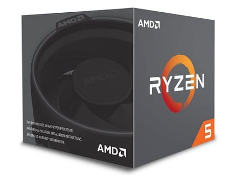 AMD Ryzen 5 2600 Wraith