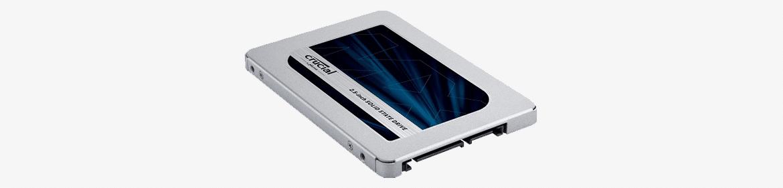 SATA-SSD: Crucial MX500