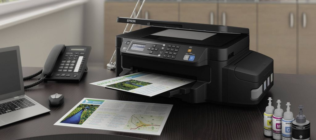 Epson printer met inktcontainer