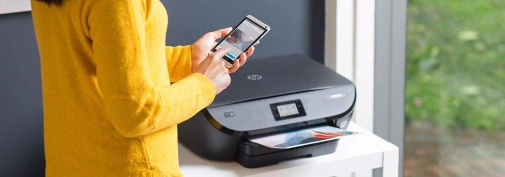 draadloos printen met een HP printer