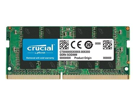 Crucial 8 GB DDR4 SODIMM