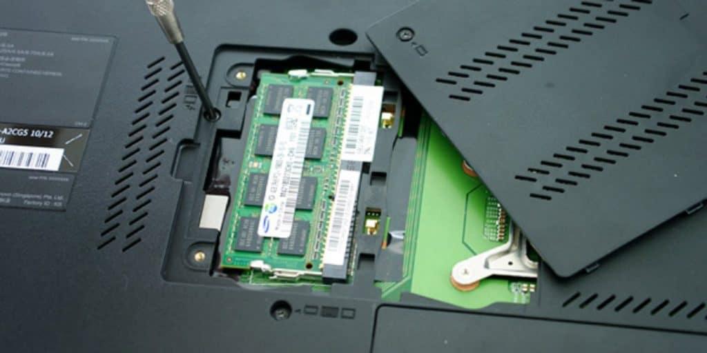 RAM geheugen in een laptop uitbreiden