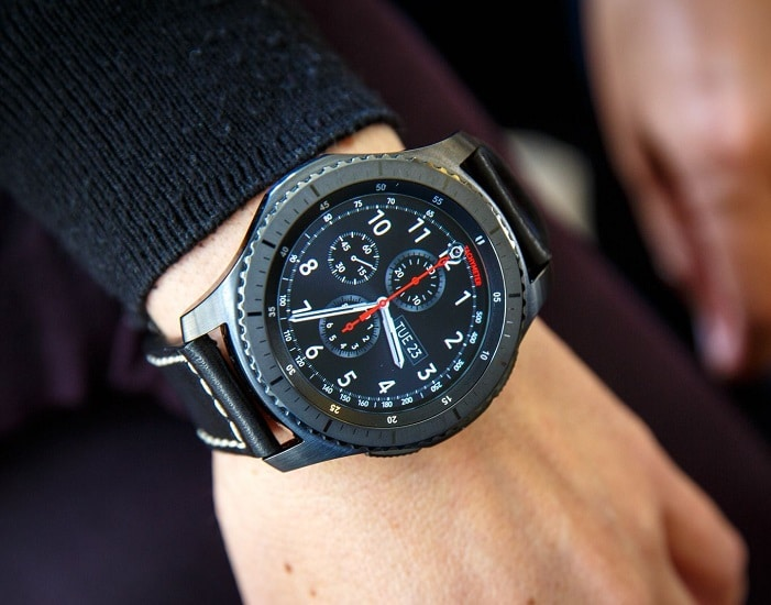 smartwatch grootte