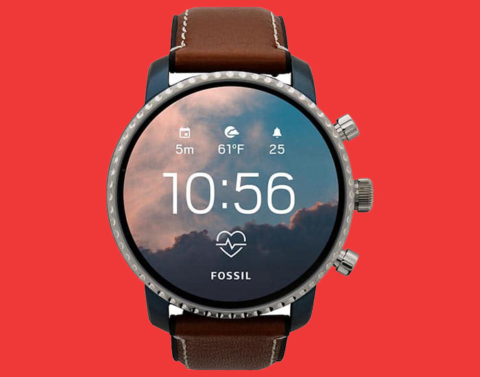Smartwatch met Wear OS
