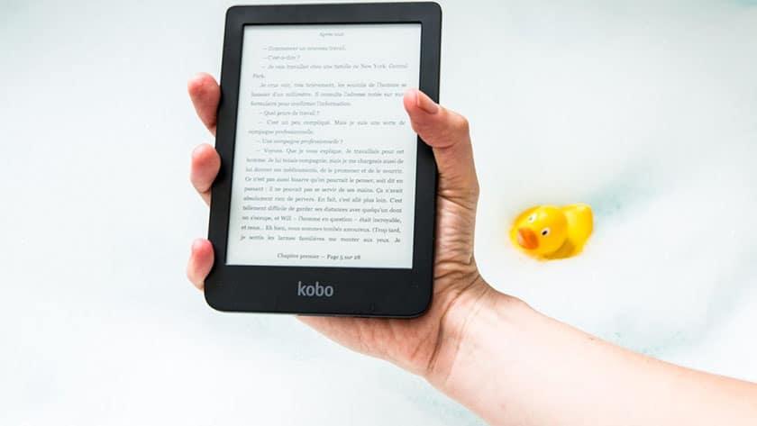 waterbestendige e-reader