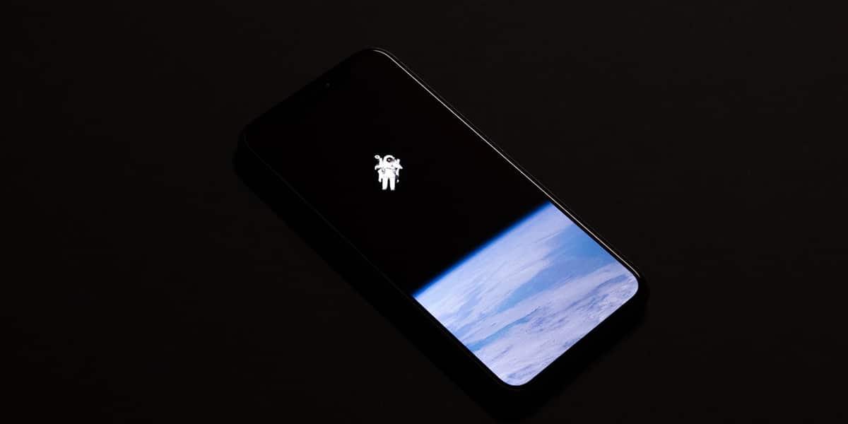 AMOLED scherm van een smartphone