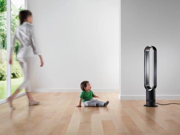 de beste ventilator voor wie jonge kinderen in huis heeft, is de Dyson AM07.