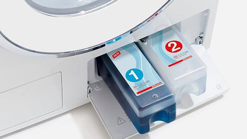 wasmachine met automatische wasmiddeldosering