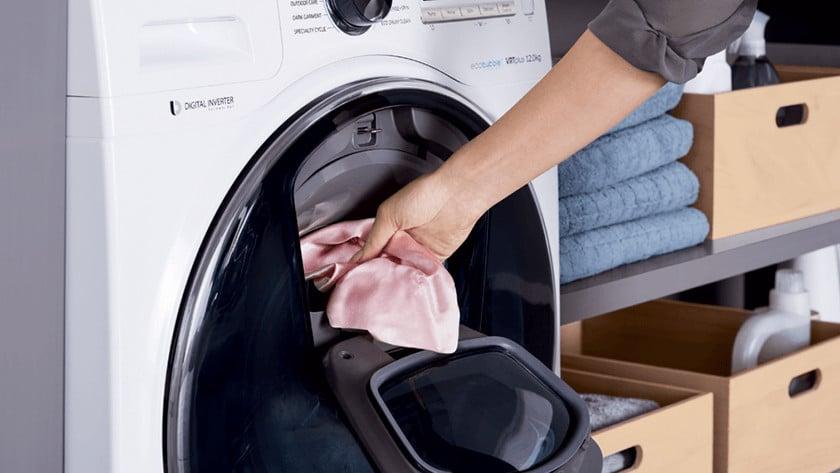 tussendtijdse was toevoegen in een wasmachine