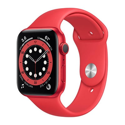 Apple Watch Series 6 rood