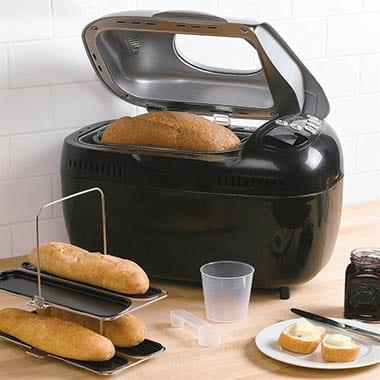 broodbakmachine met kijkvenster