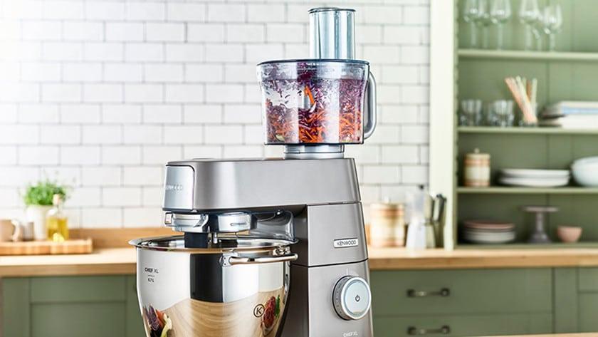 foodprocessor opzetstuk voor keukenrobots