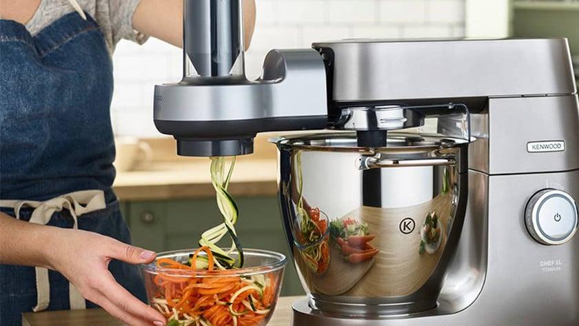 spiraalsnijder opzetstuk keukenrobot