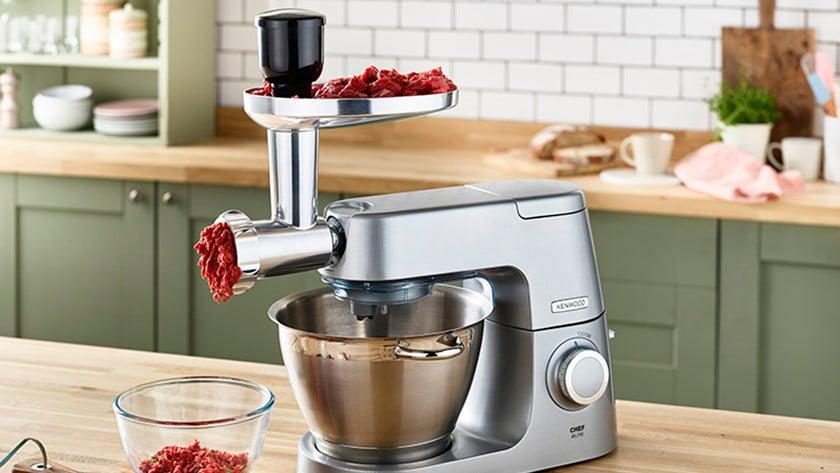 vleesmolen opzetstuk keukenrobot