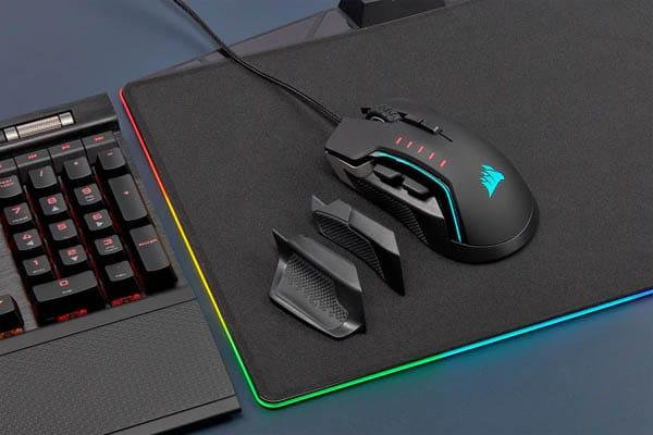 gaming muis met ergonomisch ontwerp
