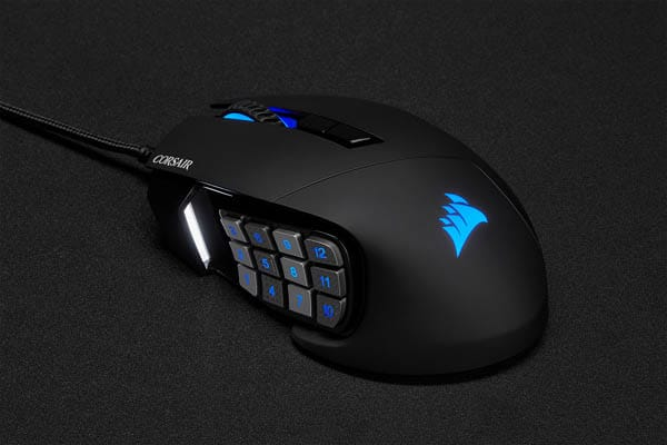 gaming muis met programmeerbare knoppen