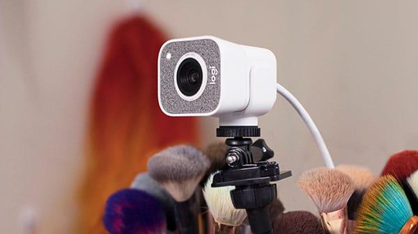 webcam met verlichting