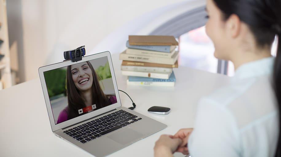webcam met ruisonderdrukking