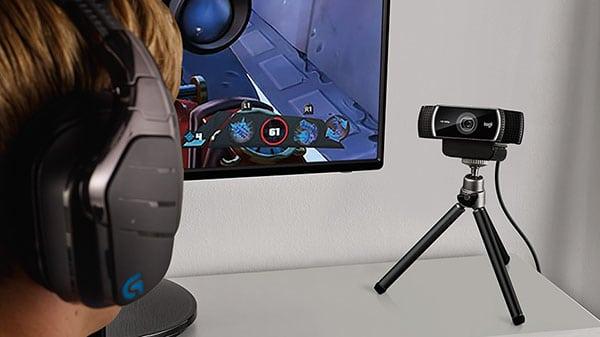 webcam met statief