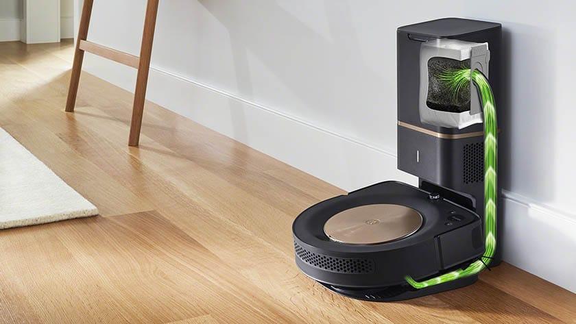 robotstofzuiger met automatisch leegstation
