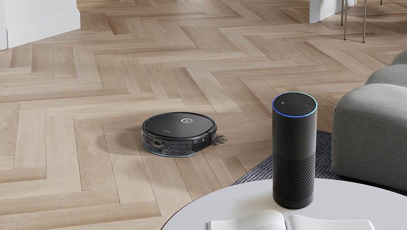 robotstofzuiger te gebruiken met smart home platform