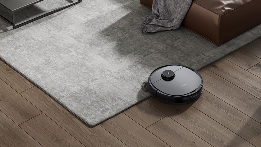 robotstofzuiger voor tapijt