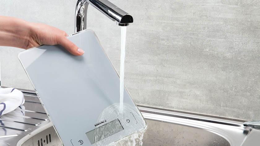 waterbestendige keukenweegschaal
