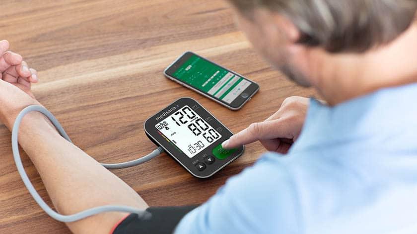 bloeddrukmeter met app