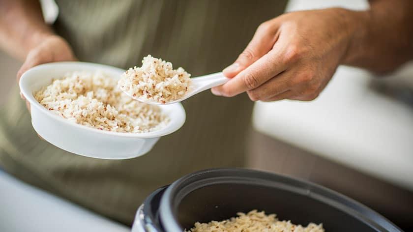 extra accessoires bij een rijstkoker