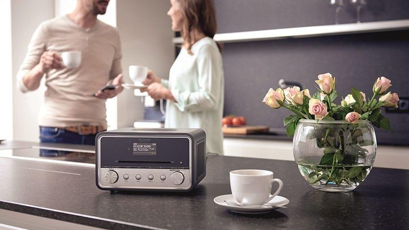 dab+ radio met USB aansluiting