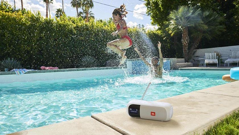 waterbestendige dab+ radio