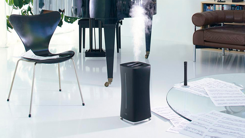 luchtbevochtiger met hygrostaat
