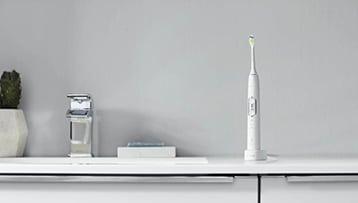 elektrische tandenborstel met oplaadstation