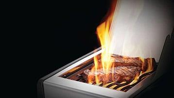 gasbarbecue met infraroodbrander